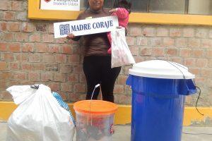 Señora participante en proyecto de Ayuda Humanitaria financiado por el Ayuntamiento de Pamplona