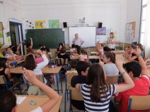 Charla en Colegio San Rafael
