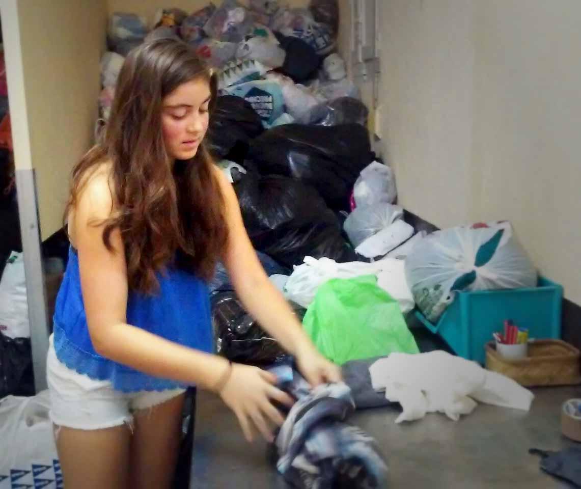 Nicole, voluntaria