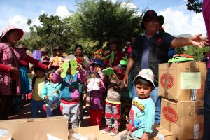 Llegada de Ayuda Humanitaria a Perú