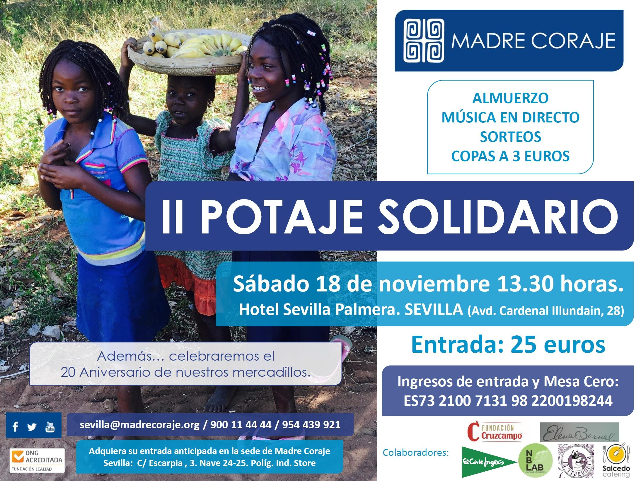 Cartel Potaje Solidariook
