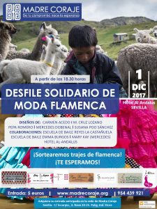 Cartel desfile flamencook